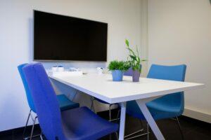 Moderne kantoor inrichting